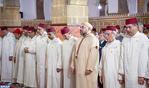 SM el Rey Mohammed VI, Amir Al Muminin, cumple la oración del viernes en la mezquita Yousfi en Casablanca