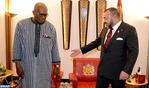 SM el Rey se reúne con el presidente de Burkina Faso