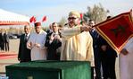 """SM el Rey lanza en Marrakech las obras de ordenación de la urbanización """"El Goumi"""" para el realojo de 1.199 familias chabolistas"""