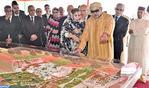 SM el Rey lanza las obras de realización del Proyecto Tecnopolo Fum El Oued - Laayún