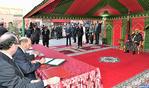 SM el Rey preside la ceremonia de firma del convenio de financiación, restauración y valorización de los circuitos turísticos y espirituales de la medina de Marrakech