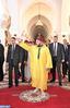 SM el Rey Mohammed VI, Amir Al Muminin, cumple la oración del viernes en la mezquita Kutubía en Marrakech