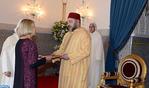 SM el Rey recibe en Marrakech a varios embajadores extranjeros