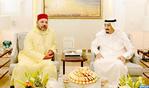 SM el Rey realiza una visita de cortesía al Rey de Arabia Saudí en su residencia en Tánger