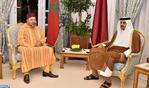 SM el Rey se entrevista con el Emir del Estado de Catar