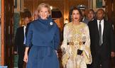 SAR la Princesa Lalla Meryem preside una cena ofrecida por SM el Rey en honor de la Princesa Astrid de Bélgica