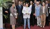 SAR la Princesa Lalla Malika preside una recepción ofrecida por SM el Rey con motivo del Día Mundial de la Cruz Roja y la Media Luna Roja