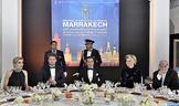 SAR el Príncipe Moulay Rachid preside una cena ofrecida por SM el Rey por la inauguración del XVI Festival Internacional de Cine de Marraquech