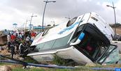 Un muerto y otros 22 heridos en un accidente de tráfico cerca de Mahammedia
