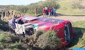 Tres muertos y 37 heridos en un accidente de tráfico en Safi