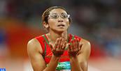 """Sanaa Benhama  gana la medalla de plata  de 400m en el """"World Para Athletics"""" de Londres"""