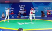 La taekwondista Safia Salih ofrece a Marruecos su primera medalla de plata en los JOJ 2018