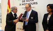 El gobernador del Banco de España condecorado con las insignias del Gran Oficial de la Orden del Wissam Al Alauí