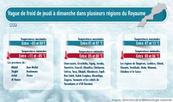 Ola de frío azota varias regiones de Marruecos