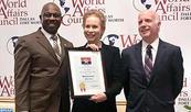 Dallas concede a Lalla Joumala Alaoui el título de Ciudadana de Honor de la ciudad
