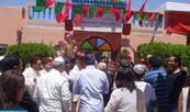Essaouira: Miembros de la comunidad judía marroquí en comunión en el Mussem del Santo Rabbi Nessim Ben Nessim