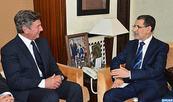 El Othmani  se reúne con  el Presidente de la Comisión de AE del Senado brasileño