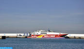 Suspendida la línea marítima Tánger Ciudad-Tarifa por el temporal en el Estrecho