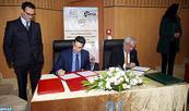 Firmado en Rabat un convenio de colaboración entre la Universidad Mohammed V  y  UNAM para crear  las cátedras Graciela Hierro y Fátima Mernissi