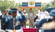 Ceremonia de bienvenida oficial a SM el Rey en Acra