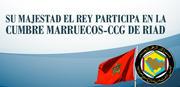 SM el Rey en la Cumbre Marruecos-CCG de Riad