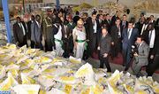 SM el Rey entrega en Yuba una donación humanitaria a la población de Sudán del Sur