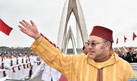 SM El Rey inaugura la autopista de circunvalación de Rabat