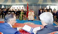 SM el Rey preside en Casablanca la ceremonia de firma de dos convenios sobre el refuerzo de la atención médica de los detenidos y ex-detenidos