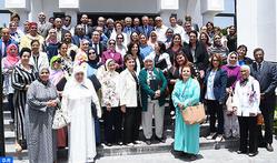 Su Alteza la Princesa Lalla Zineb preside en Rabat una reunión de la asamblea general ordinaria de la Liga Marroquí para la Protección de la Infancia
