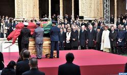 SAR el Príncipe Moulay Rachid representa a SM el Rey en el funeral del expresidente portugués Mario Soares