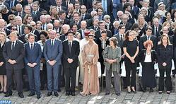 SAR la Princesa Lalla Meryem  participa  en París en el homenaje nacional a Simone Veil