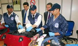Detenido en Casablanca un ghanés con casi 10 kilos de cocaína