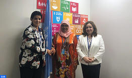 La apertura de la oficina ONU-Habitat en Marruecos centra entrevista de El Khiel en Nueva Yorka