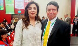 La embajadora de Marruecos en Colombia, invitada especial del X Congreso nacional de la CGT
