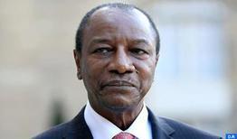 Las estancias de SM el Rey en Guinea son beneficiosas para el país (Alpha Condé)