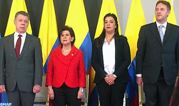 La embajadora de Marruecos en Colombia, miembro del jurado del prestigioso Premio Nacional de Alta Gerencia, otorgado por el presidente Santos