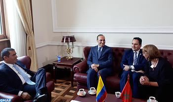 El Malki se entrevista en Bogotá con los presidentes de las dos cámaras del Congreso colombiano