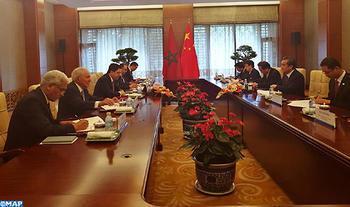 Burita se entrevista con el jefe de la diplomacia china sobre la puesta en marcha de la asociación estratégica bilateral