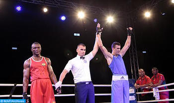 World Cup of Petroleum Countries en Rusia: el boxeador marroquí Hassan Saada gana medalla de oro