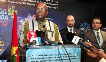 Burkina Faso aprecia enormemente la mano tendida de SM el Rey a Argelia (Pdte. Roch Kaboré)