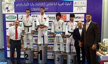 Marruecos se adjudica tres medallas de oro en el Campeonato Árabe de Judo Beirut 2017