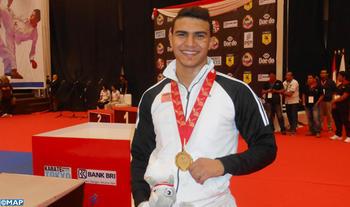Achraf Ouchen gana oro en el Mundial de Kárate de Yakarta
