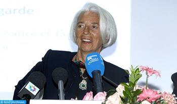 Las asambleas del BM-FMI de 2021 en Marruecos serán brillantes en un país que encarna los principios del multilateralismo (Christine Lagarde)