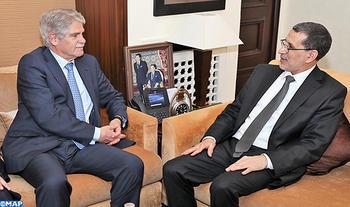 El Othmani aplaude el nivel de las relaciones estratégicas entre Marruecos y España