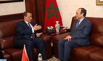 El ministro mauritano de AA.EE. saluda la visión africana de SM el Rey