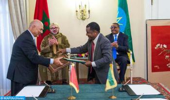 Adís Abeba: reuniones marroquí-etíopes para acelerar la aplicación de los acuerdos firmados durante la visita real de 2016