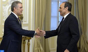 El nuevo presidente colombiano destaca la calidad y la profundidad de las relaciones de su país con Marruecos