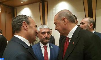 El presidente turco expresa su determinación a consolidar más las relaciones de su país con Marruecos