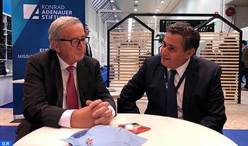 Akhannouch se reúne con responsables europeos en Helsinki