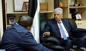 La posición de SM el Rey sobre Al Qods refleja la gran preocupación del soberano por la cuestión palestina (Embajador de Palestina en Rabat)
